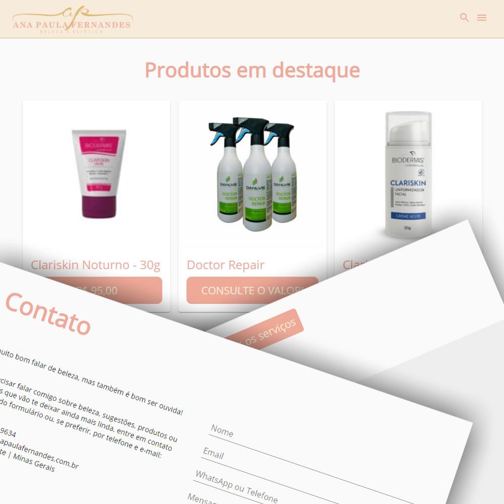 Site Ana Paula Fernandes