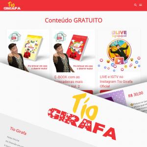 Site Tio Girafa