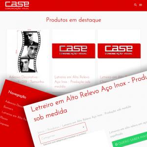Site Case Comunicação Visual