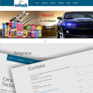 Site Frantec Distribuidora