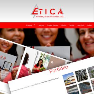 Site Ética Informações de Engenharia