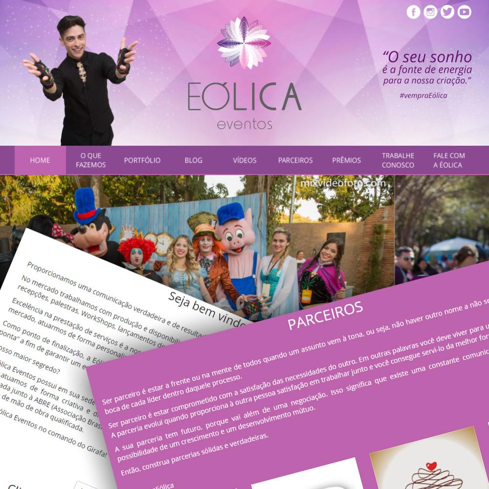 Site Eólica Eventos