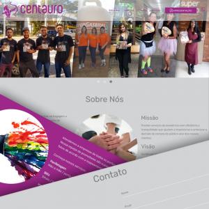 Site Centauro Publicidade