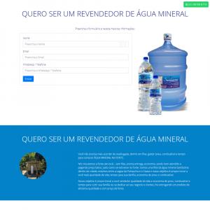 Landing Page Mineral Distriuidora